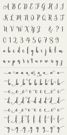 Full Alphabet SVG Fonts Cutfile - Modern Handwritten Script cricut font DXF EPS - Silhouette Cameo & Cricut - clean cutting digital files PLEASE NOTE that this is NOT font-software Alphabet Cursif, Calligraphy Fonts Alphabet, Handwriting Alphabet, Hand Lettering Alphabet, Cute Fonts Alphabet, How To Write Calligraphy, Cute Cursive Font, Handwritten Fonts, Graffiti Alphabet