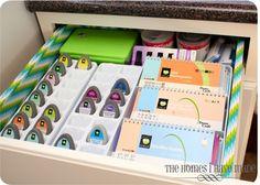 good article on craft room storage ideas