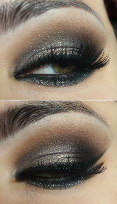 Evening make-up - #eyeshadow