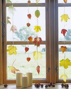 Decoratie-ideeën met herfstblad: kies maar uit, in de tuin of in het bos, het ene blad is nog mooier dan het andere, van geelgroen tot dieprood.