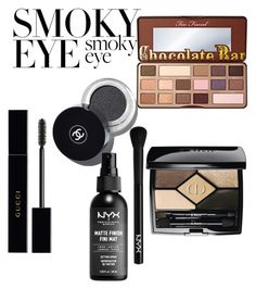 """""""Untitled #17"""" by ioana-adelina-1 on Polyvore featuring beauty, Gucci, NYX and Christian Dior"""