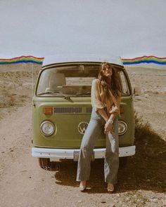 hippie style When you rock the rainbow collage - Hippie Style, Looks Hippie, 70s Style, Gypsy Style, Bohemian Gypsy, Hippie Chic, Hippie Vintage, Vintage Vibes, Retro Vintage