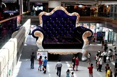 The biggest sofa in the world