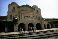 The historic Santa Fe Depot in San Bernardino was once the largest train depot west of the Mississippi, employing 5,000 people and serving 26 trains per day. Click to read more at PE.com.
