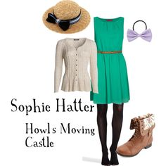 """""""Sophie - Howl's Moving Castle"""" by amistel19 on Polyvore"""