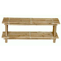 Bamboo Shoe Rack (Vietnam)   Overstock.com Shopping - The Best Prices on Storage & Organization