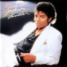 One of the greatest albums of all time.                                                                                                                                                      More Thriller Michael Jackson, Michael Jackson 1983, Thriller Jackson, Michael Jackson Album Covers, 80s Musik, Thriller Album, Thriller Video, El Rey Del Pop, Cultura Pop