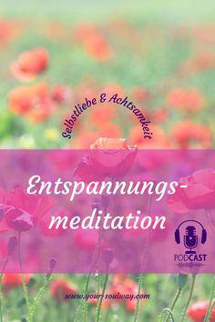Heute habe ich dir eine kurze, aber sehr wirksame Entspannungs-Atemmeditation mitgebracht, die du immer dann anwenden kannst, wenn dich gestresst fühlst, dich nicht im Frieden mit dir fühlst, Sorgen hast oder das Gefühl hast, Urlaub zu brauchen. Ich hoffe, die Meditation tut dir gut und du kannst ein wenig Ruhe tanken. Klicke auf den Pin! Atem Meditation, Movies, Movie Posters, Stressed Out, Peace, Too Busy, Vacation, Films, Film Poster