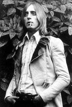 Mick Ronson, 1970....in the garden of Haddon Hall...
