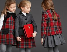 Dolce and Gabanna 2014 - Plaid love