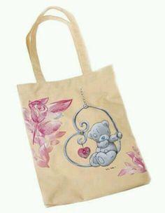 Tote Bag - Me to You Bear - kent handbags Tatty Teddy, Teddy Bear, Blue Nose Friends, Cheap Sweaters, Bear Doll, T Shirt Yarn, Vintage Shirts, You Bag, Discount Purses