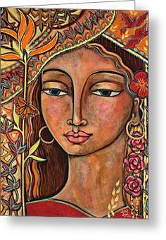 Shiloh Sophia Prints Greeting Cards - Shiloh Sophia Paintings
