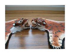 Fake Tiger Skin Rug