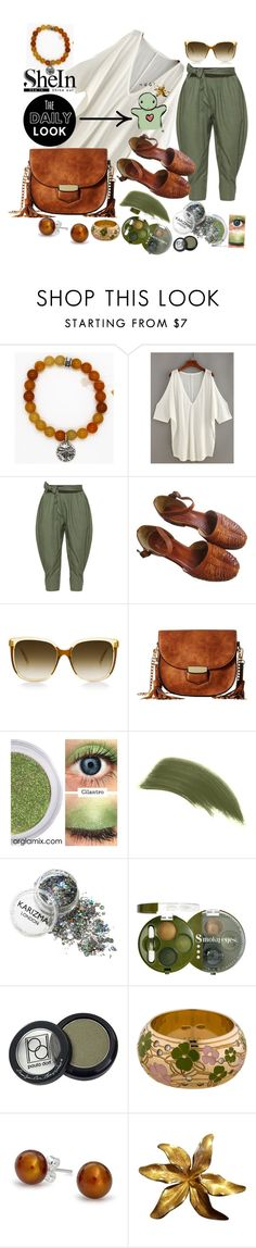 """""""#lookshein"""" by bilbomex ❤ liked on Polyvore featuring Isolde Roth, Gabriella Rocha, By Terry, Bourjois, Paula Dorf, ESCADA, Bling Jewelry and Tiffany & Co."""