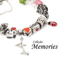 Pulseira + Berloque = Coleção Memories