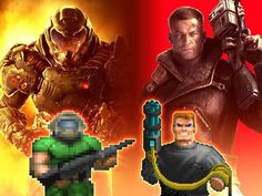 But don't forget that the Doomguy is clearly superior to B. Video Game Memes, Video Game Art, Fandom, King's Quest, Doom Demons, Doom 2016, Doom Game, Slayer Meme, Wolfenstein