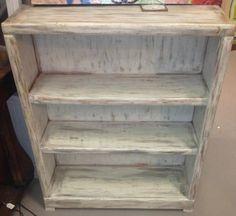 Repurposed Bookshelf - $85