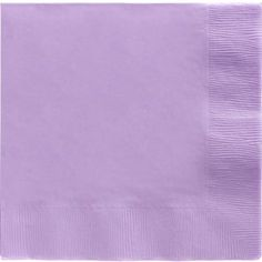 Lavender Dinner Napkins 20ct - Party City $3.99 for 20 60ct- $12  or do custom printed for $23/ 75qty dinner size $17/75qty for cocktail