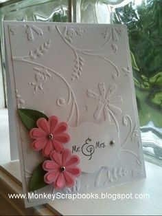 homemade cuttlebug cards | http://home-depot-447.blogspot.com
