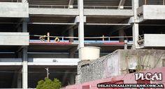 Obras en el Estadio - Palco Norte