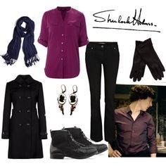"""Sherlock BBC II"" by fandom-wardrobes on Polyvore"