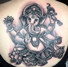 Tattoo Ganesha by Raphael (Identity Munich)
