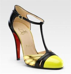 t-strap heels!