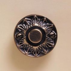 Augustus Bell Button from Baltica Bed Sheet Sets, Bed Sheets, Doorbell Cover, Bell Button, Luxury Homes, Decorative Plates, Home Decor, Luxurious Homes, Luxury Houses