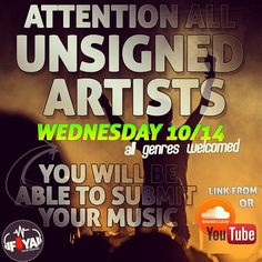 Add your music to the FIYA unsigned artist librart