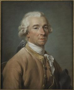 Labille-Guiard, Portrait of Mr de Beaufort, pastel