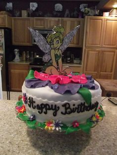 74 Most Inspiring Tinkerbell Cakes Images
