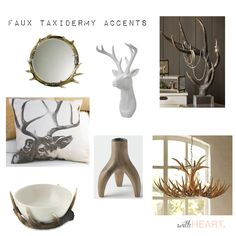 OH DEER: FAUX TAXIDERMY ACCENTS