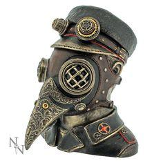 Steampunk Admiral Büste und Aufbewahrung mit Maske | VOODOOMANIACS