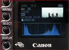 This web page describes how to use Histograms to take better photographs.