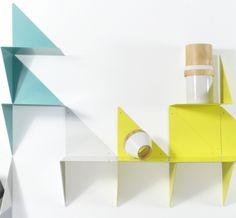 Etagere design Adonde 3D blanche -