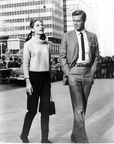 Breakfast At Tiffanys. Audrey Hepburn and George Peppard.