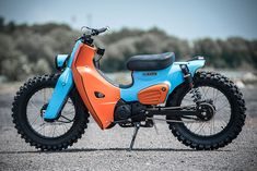 2018 Honda Super 'Scrambler' Cub By K-Speed | HiConsumption