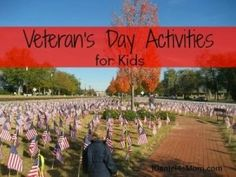 Ways to Teach Your Children About Veterans Day