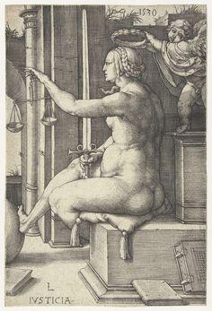 Rechtvaardigheid, Lucas van Leyden, 1530