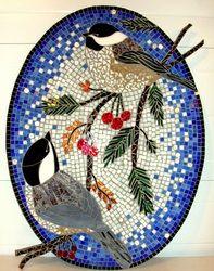 mosaic chickadees