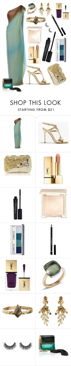 """Set 100"" by annabellalovesfashion ❤ liked on Polyvore featuring Paule Ka, Halston Heritage, Anndra Neen, Smashbox, Jouer, Clinique, Givenchy, Yves Saint Laurent, Pomellato and Zara Simon"