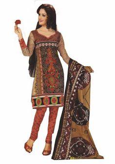 BAZARVILLA COTTON Printed Ethnic Rajasthani Dress Material Salwar Suit DUPPATA RCC2002,shopdrill - Online Shopping Marketplace Shopdrill.com