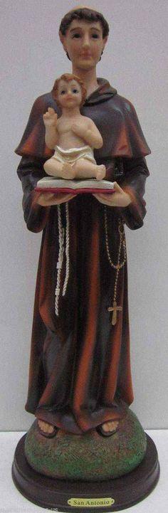 NEW - San Antonio De Padua / St Anthony STATUE 17 Inch 6349-17 BRAND NEW