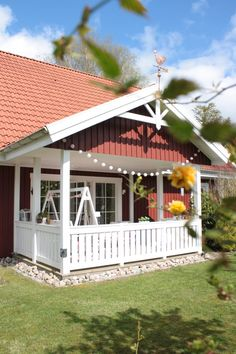 Schwedenhaus, Veranda