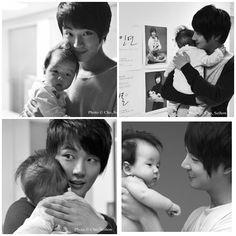 yoon park with a baby Yoon Shi Yoon, Yoon Park, Park Shin Hye, Korean Drama Stars, Korean Star, Korean Wave, Korean Adoption, Oh My Ghostess, Park Si Hoo