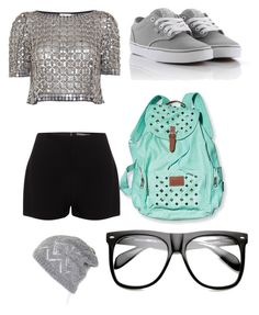 """;)"" by daisy-menjivar ❤ liked on Polyvore featuring Vans, Temperley London, Alexander McQueen, Victoria's Secret and INDIE HAIR"