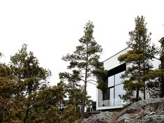 betonitalo-photo-krista-keltanen-14 Modern Rustic, Interior And Exterior, Villa, Ark, Gallery, Blog, Future House, Architecture, Roof Rack