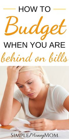 How to Catch Up When You Are Behind on Bills – Finance tips, saving money, budgeting planner Budgeting Finances, Budgeting Tips, Budgeting Worksheets, Financial Tips, Financial Planning, Financial Quotes, Ways To Save Money, Money Saving Tips, Money Tips
