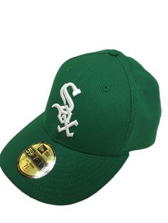 online store 68213 2526d Mens Chicago White Sox Low Profile Kelly Green St. Patricks Day 59FIFTY  Diamond Era Fitted Hat By New Era