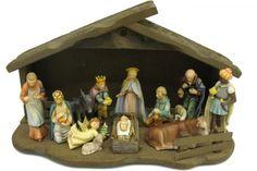 My Hummel Nativity Set from my grandmother